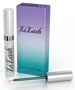 LiLash eyelash serum - available at Rubywaxx, Auckland.