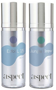 Home use of Aspect serums are the key to maintaining the results of your acne treatment.