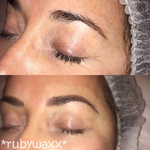 You too can have beautiful bold brows with microblading.