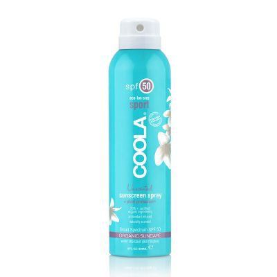 Buy COOLA Unscented Sunscreen Spray SPF 50 – with cheap, flat-rate delivery NZ wide.