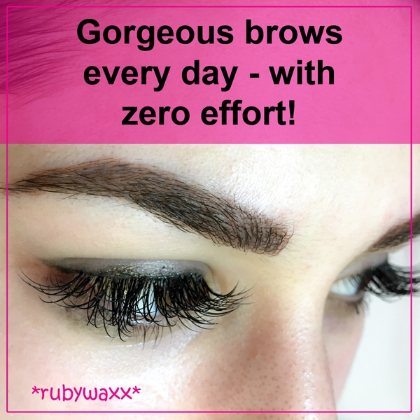 Gorgeous brows every day - with zero effort!